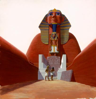 La Esfinge en la época de los faraones