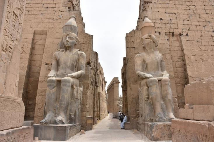 Ruinas actuales de Luxor